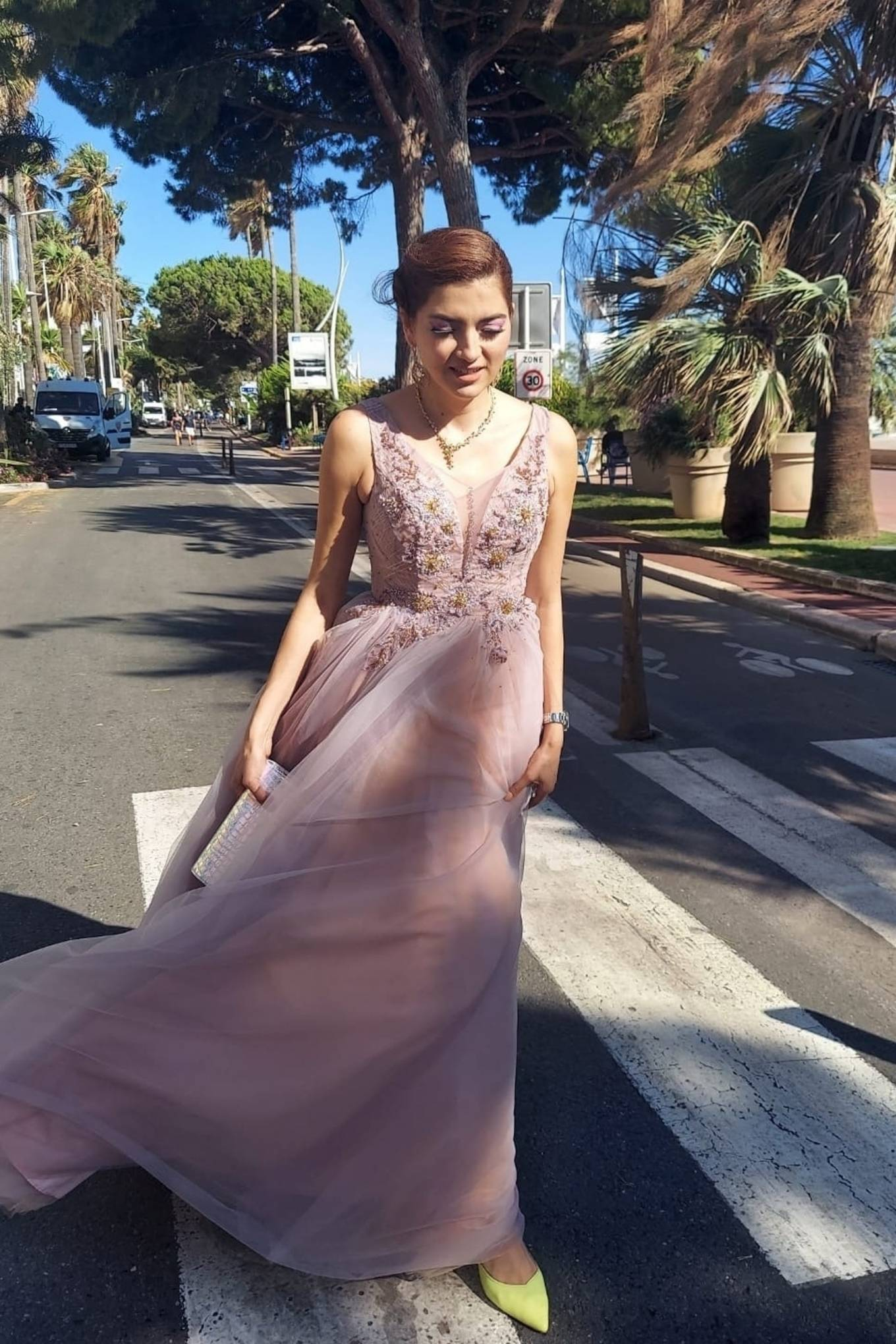 Blanca Blanco - Pictured during the 74th Annual Cannes Film Festival