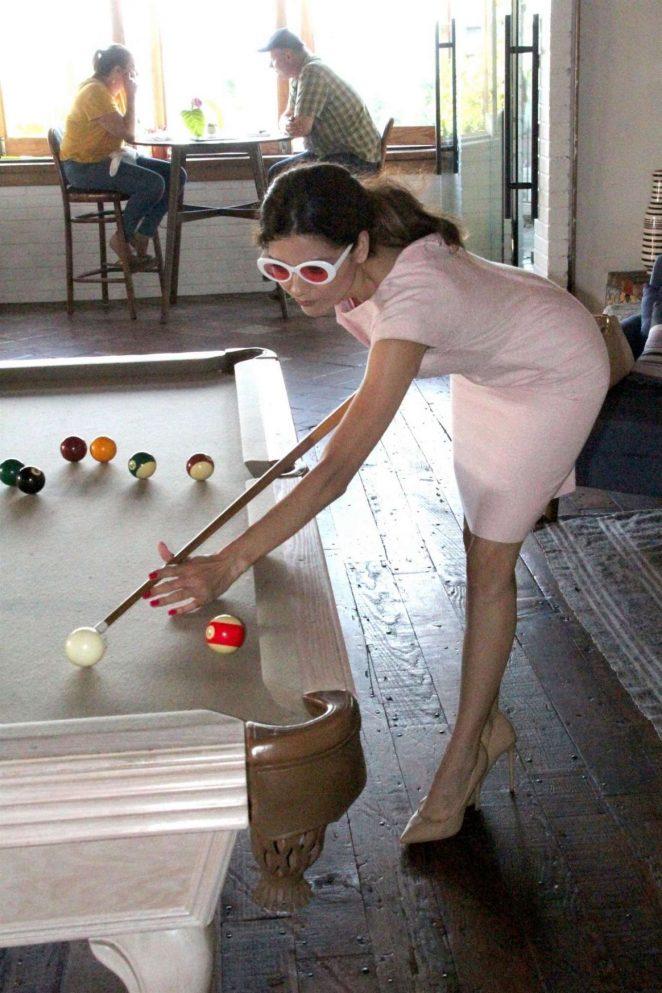 Blanca Blanco - Playing Pool In Malibu