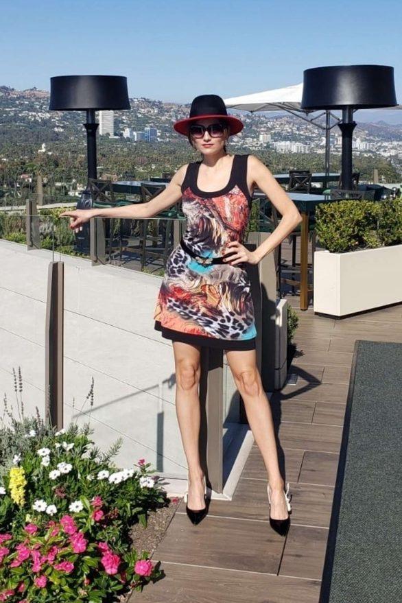 Blanca Blanco 2019 : Blanca Blanco – Posing on a sunny day in Beverly Hills-07