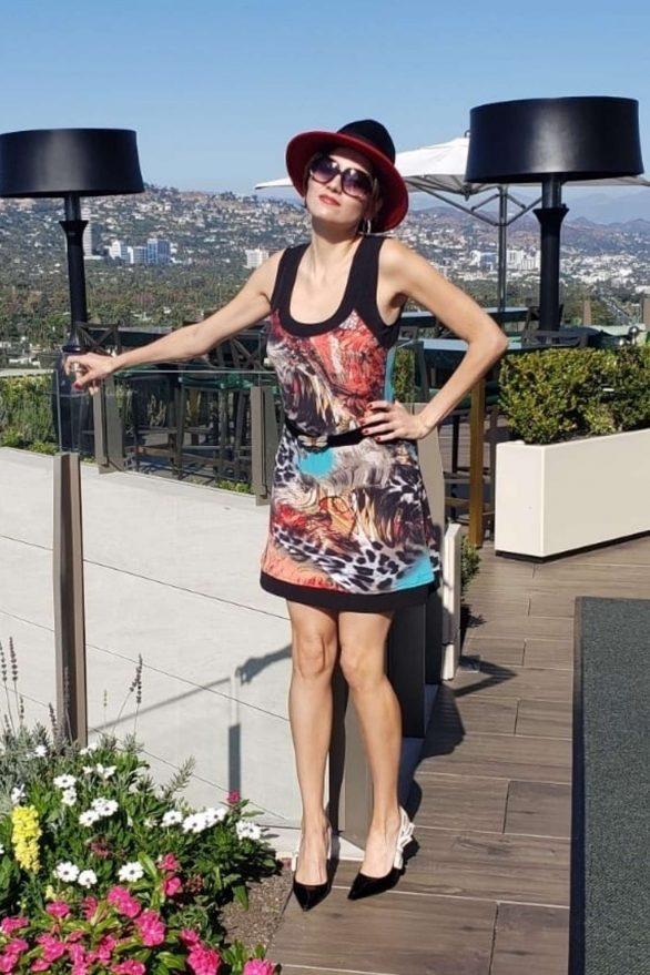 Blanca Blanco 2019 : Blanca Blanco – Posing on a sunny day in Beverly Hills-10