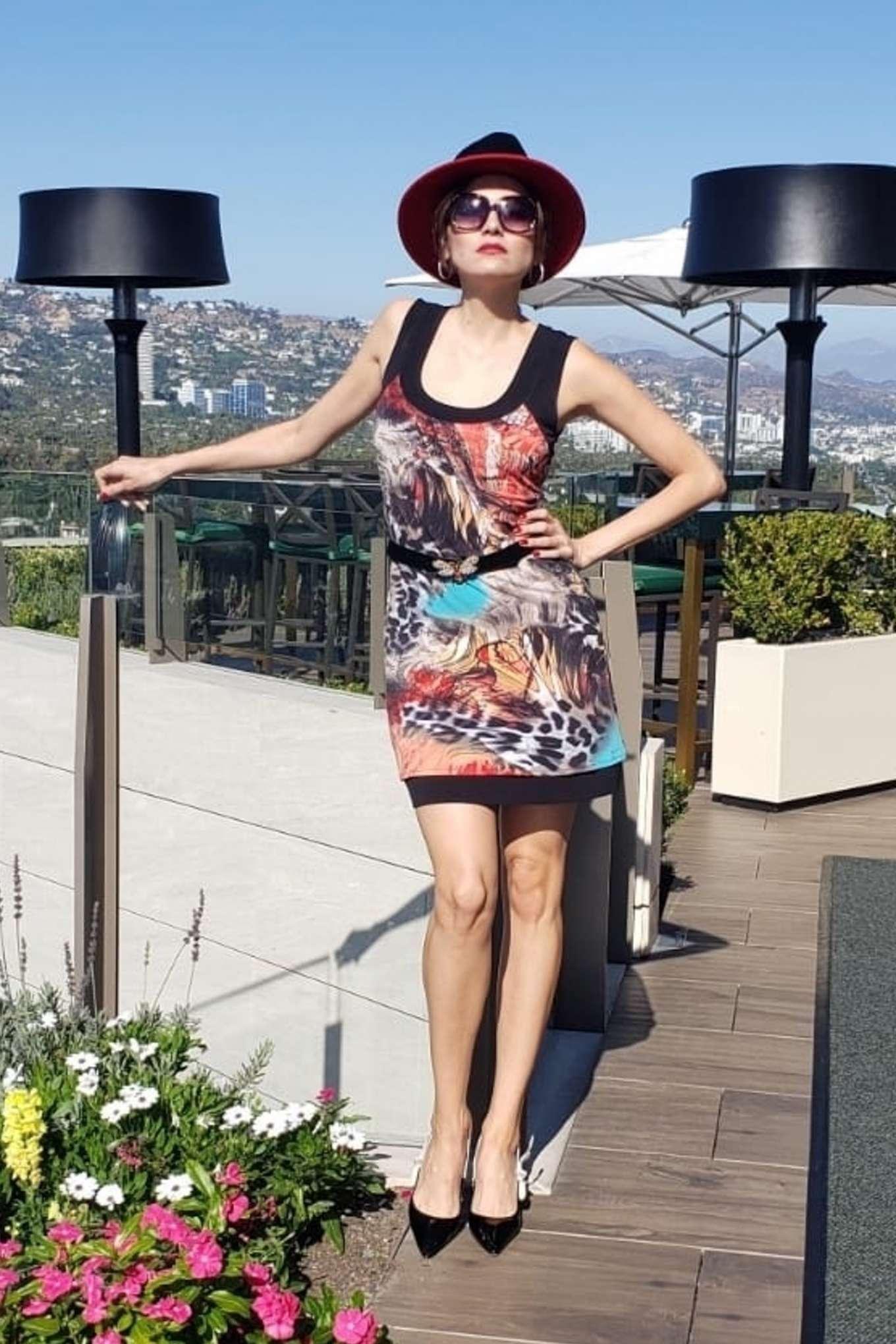 Blanca Blanco 2019 : Blanca Blanco – Posing on a sunny day in Beverly Hills-12