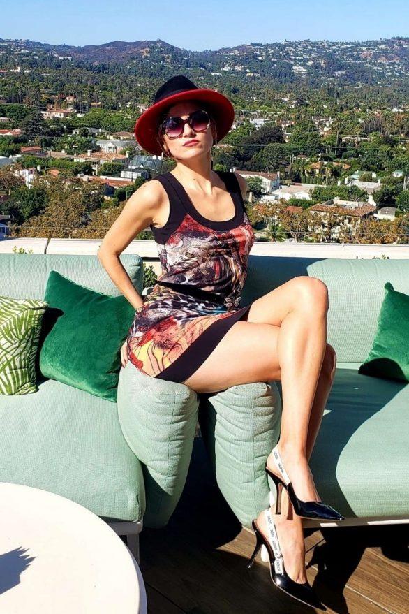Blanca Blanco 2019 : Blanca Blanco – Posing on a sunny day in Beverly Hills-14