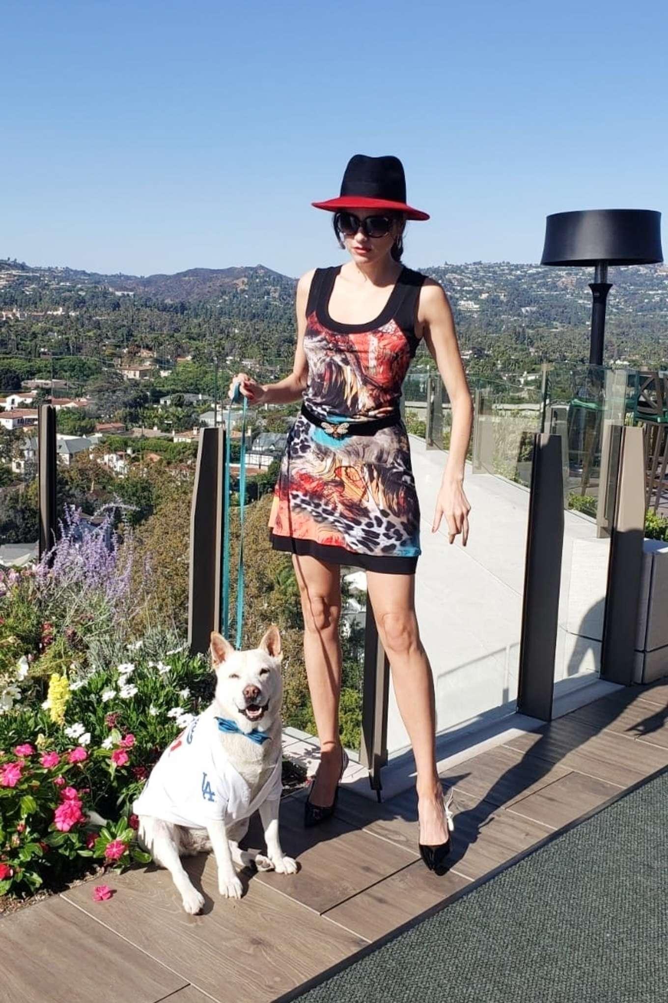 Blanca Blanco 2019 : Blanca Blanco – Posing on a sunny day in Beverly Hills-15