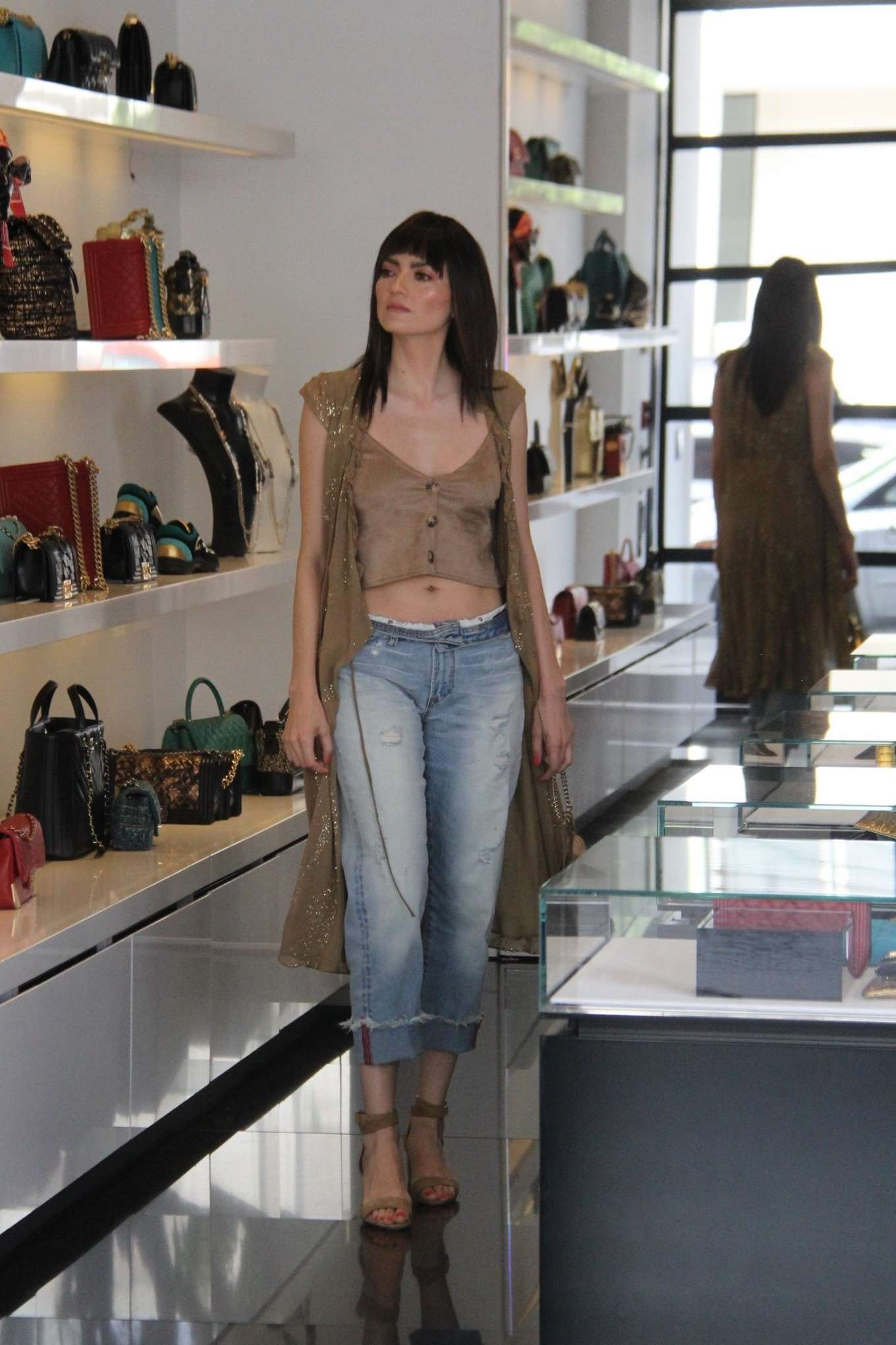 Blanca Blanco 2019 : Blanca Blanco: Shopping at Chanel on Robertson Blvd-17