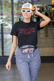 Blanca Blanco - Shopping at Topanga Mall in Canoga Park