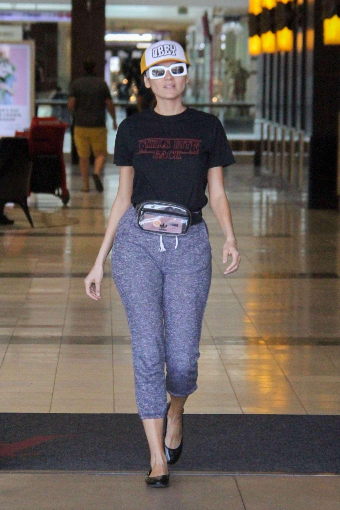 Blanca Blanco 2019 : Blanca Blanco: Shopping at Topanga Mall -15