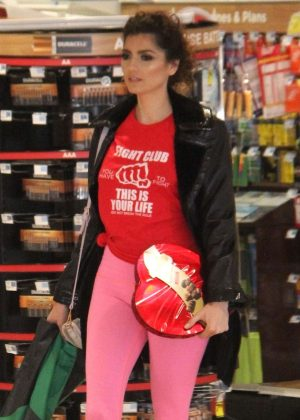 Blanca Blanco - Shopping in Beverly Hills