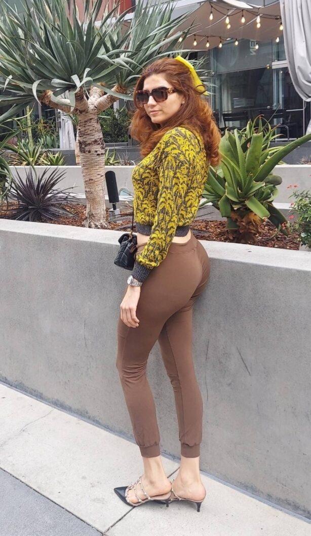 Blanca Blanco - Steps out an L.A.