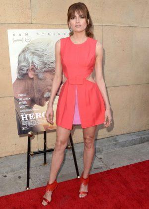 Blanca Blanco - 'The Hero' Premiere in Hollywood