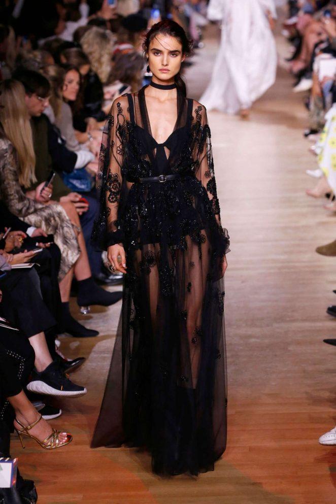Blanca Padilla – Elie Saab Runway Show in Paris