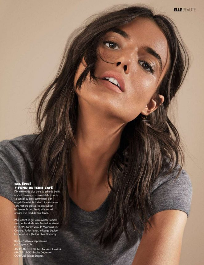 Blanca Padilla - Elle Magazine (March/April 2018)