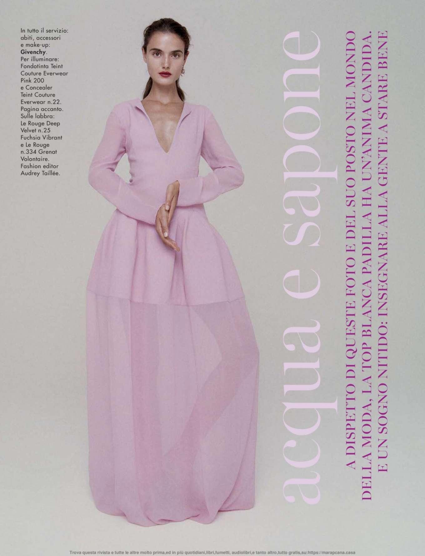 Blanca Padilla - Glamour Italy Magazine (November 2019)