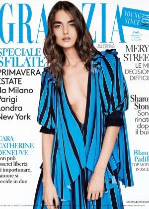 Blanca Padilla - Grazia Italy Magazine (January 2018)
