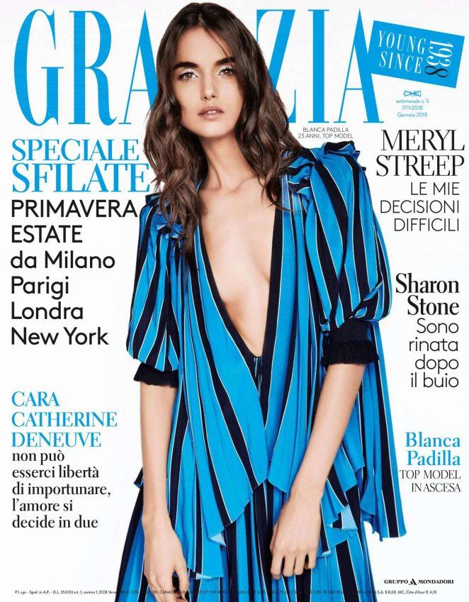 Blanca Padilla – Grazia Italy Magazine (January 2018)