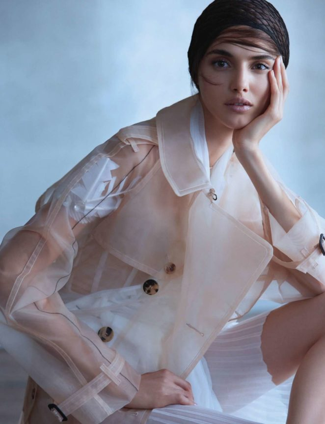 Blanca Padilla – Harper's Bazaar Singapore (December 2017)
