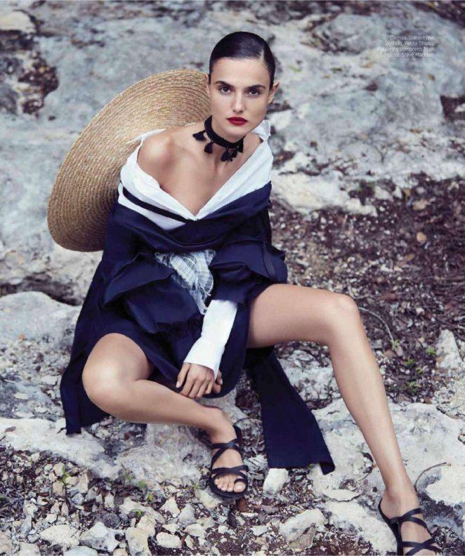 Blanca Padilla - Harper's Bazaar Spain Magazine (April 2018)