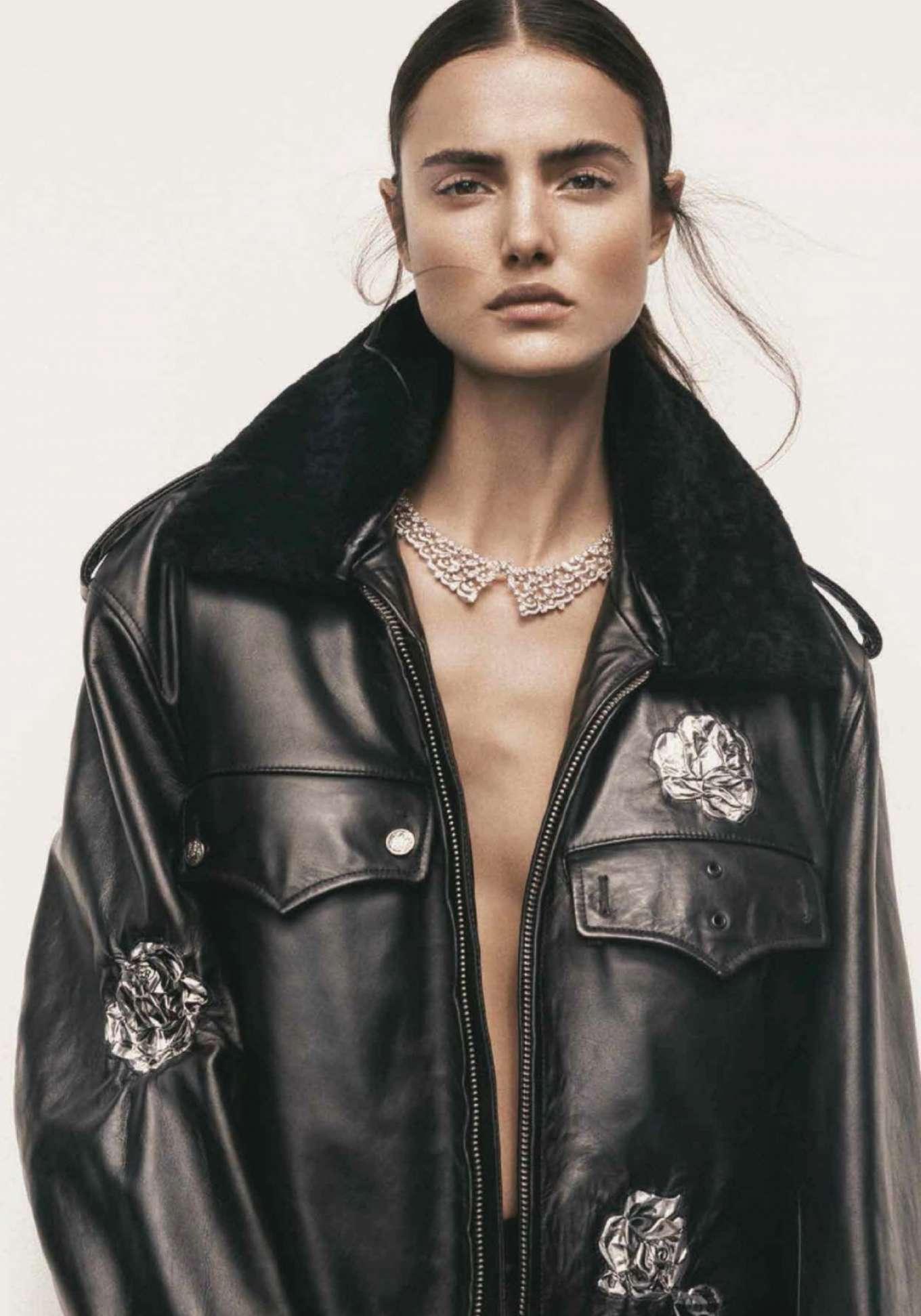 Blanca Padilla - Harper's Bazaar Turkey Magazine (January 2018)