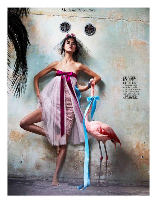 Blanca Padilla - Madame Figaro Magazine (February 2018)