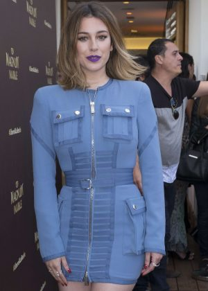 Blanca Suarez at Presentation of the new Magnum Campaign 2016 in Madrid