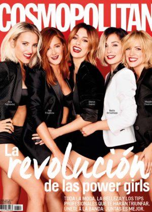 Blanca Suarez - Cosmopolitan Spain Magazine (December 2017)