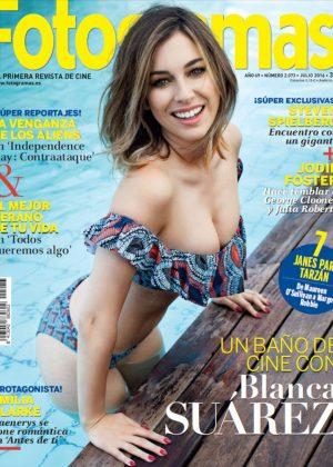 Blanca Suarez - Fotogramas Magazine Cover (July 2016)