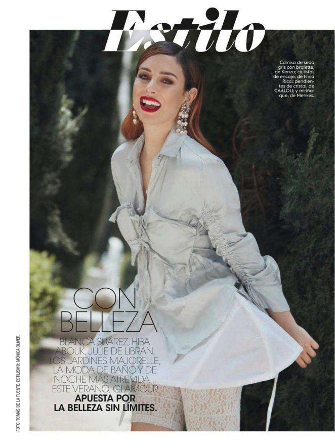 Blanca Suarez - Glamour Spain Magazine (July 2018)