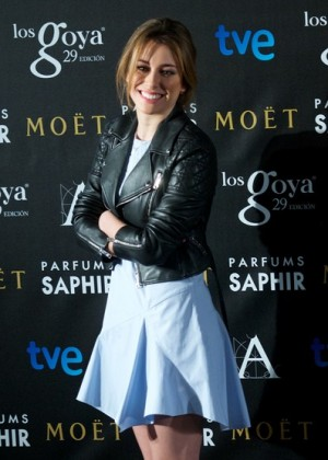 Blanca Suarez - Goya Awards Candidates Press Conference in Madrid