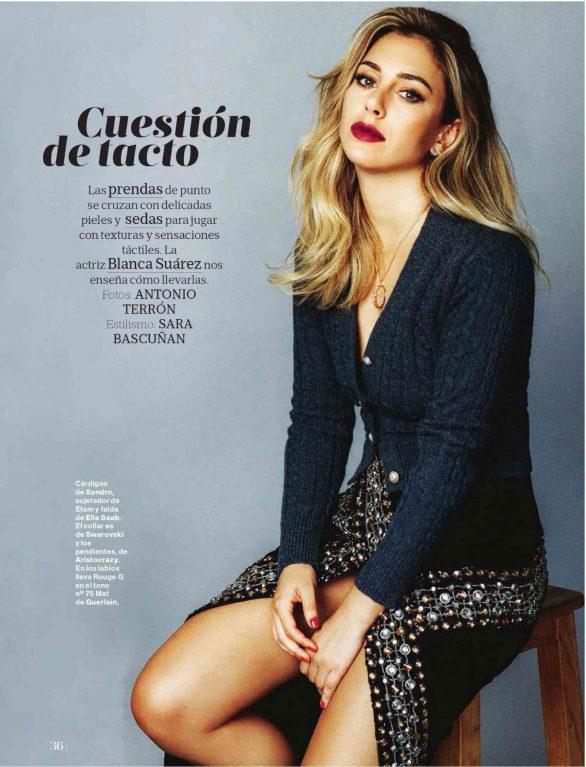 Blanca Suarez - Mujer Hoy Magazine (October 2019)