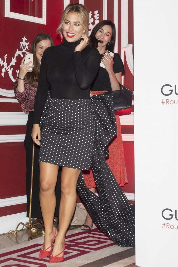Blanca Suarez 2019 : Blanca Suarez – Possing at Rouge G de Guerlain lipstick presentation in Madrid-03