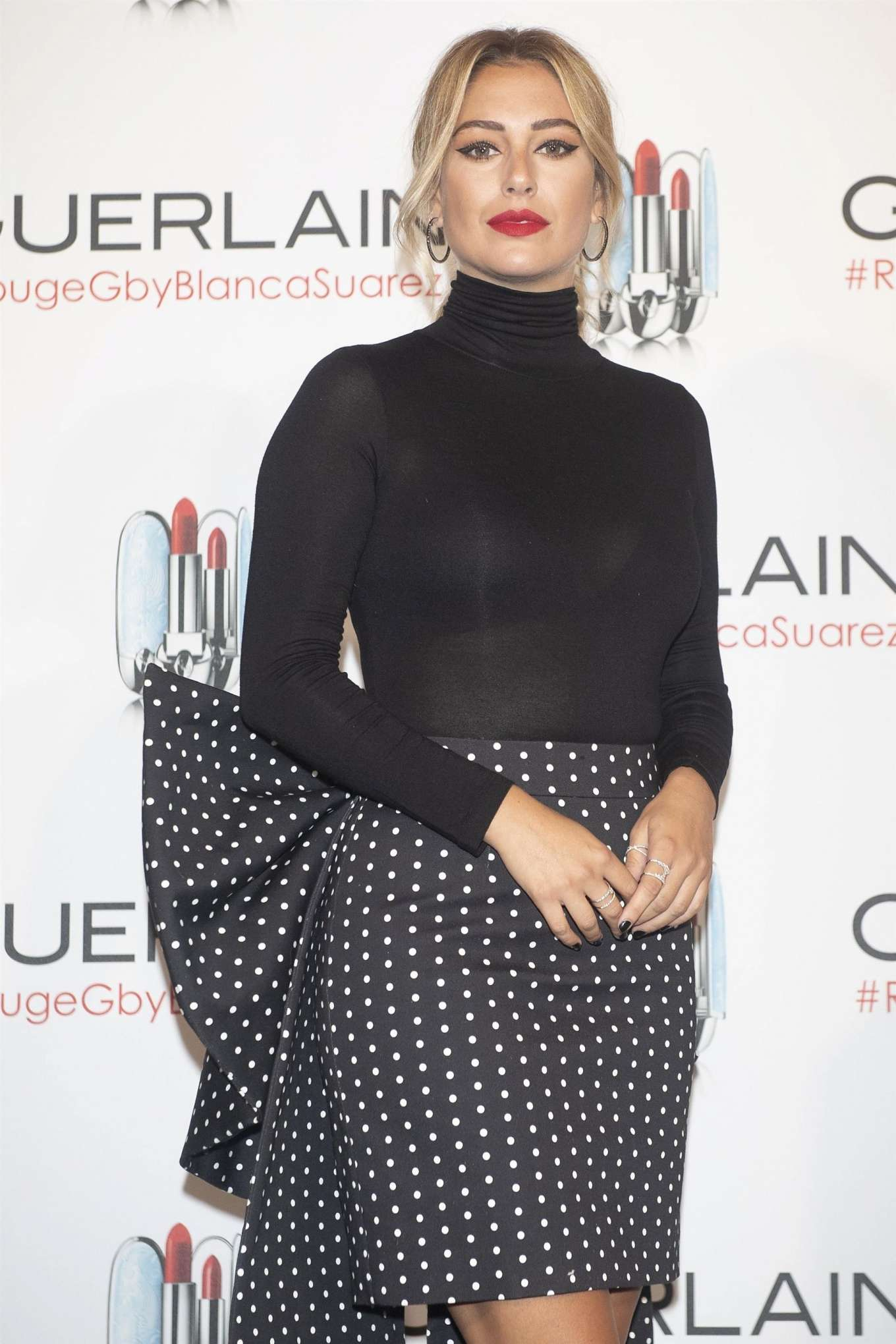 Blanca Suarez 2019 : Blanca Suarez – Possing at Rouge G de Guerlain lipstick presentation in Madrid-05