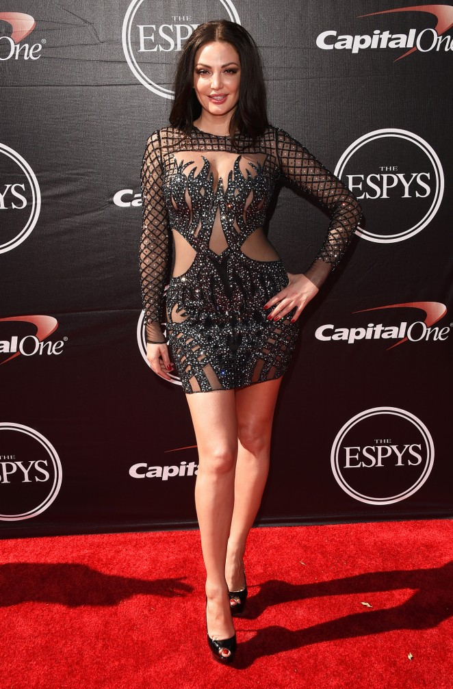Bleona Qereti - 2015 ESPYS in Los Angeles