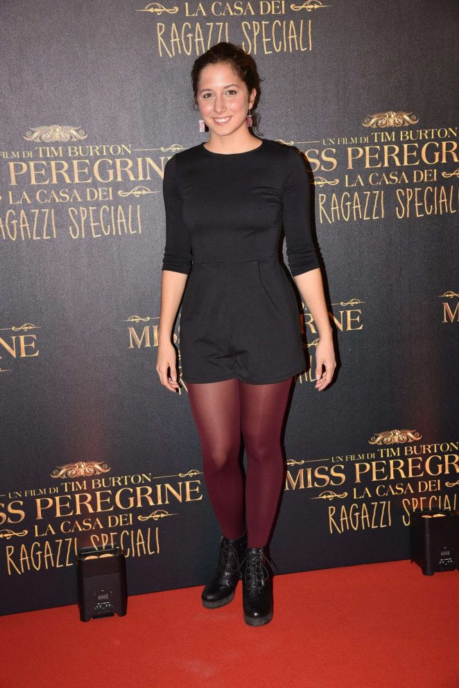 Blu Yoshimi - 'Miss Peregrine's Home for Peculiar Children' Premiere in Rome