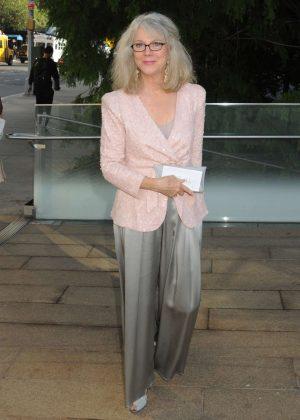 Blythe Danner - Arrives at Metropolitan Opera in New York
