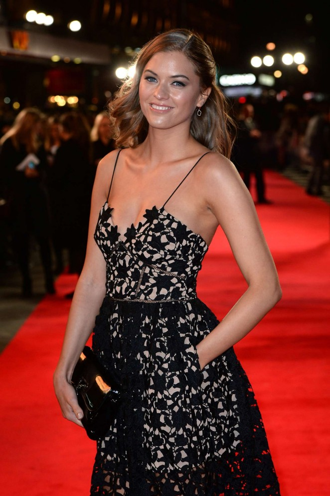 Bo Bene - 'Burnt' Premiere in London