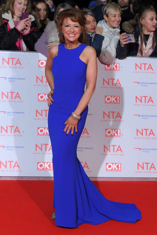Bonnie Langford - National Television Awards 2018 in London