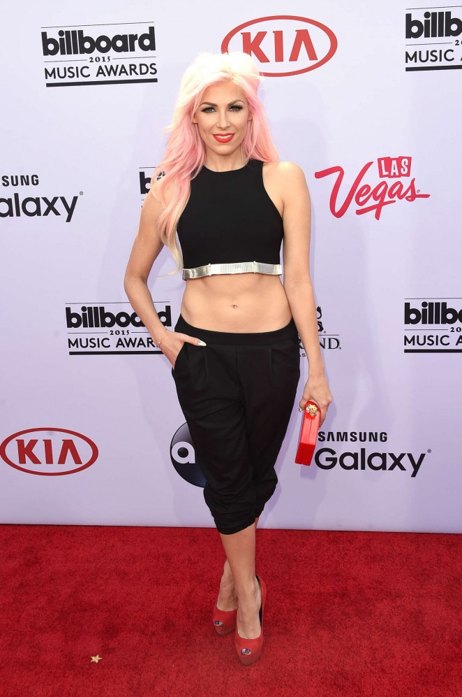 Bonnie McKee - Billboard Music Awards 2015 in Las Vegas