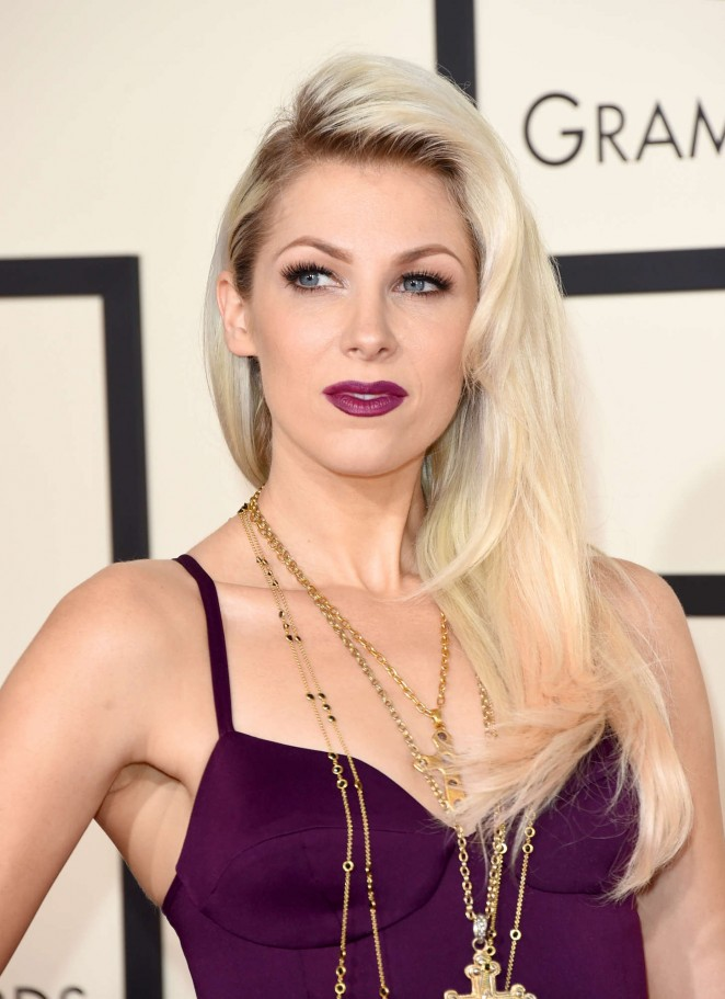 Bonnie McKee - GRAMMY Awards 2015 in Los Angeles