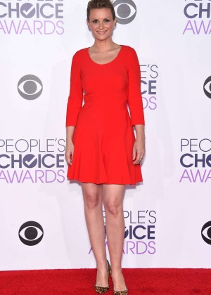 Bonnie Somerville - People's Choice Awards 2016 in Los Angeles