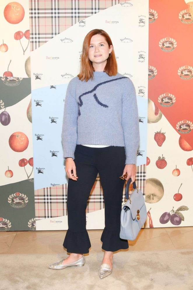 Bonnie Wright - Burberry x Elle Celebrate Personal Style with Julien Boudet in LA