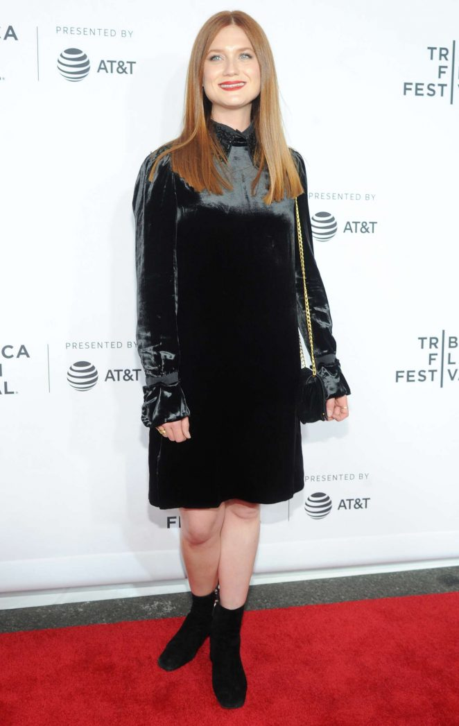 Bonnie Wright - 'Clive Davis: The Soundtrack Of Our Lives' Premiere in NYC