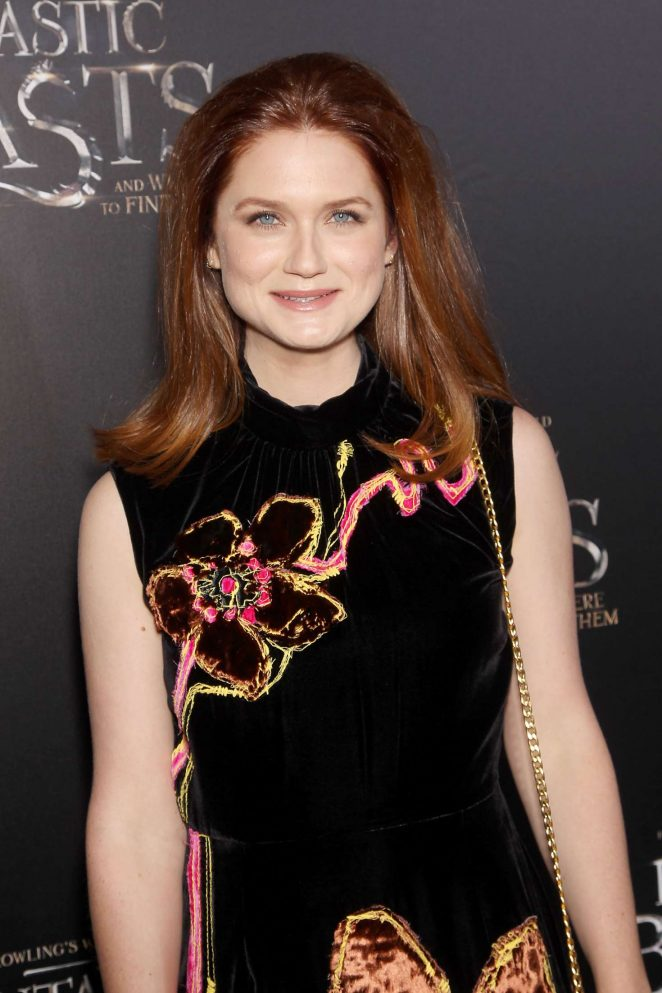 Bonnie Wright -'Fantastic Beasts and Where to Find Them' Premiere in NYC