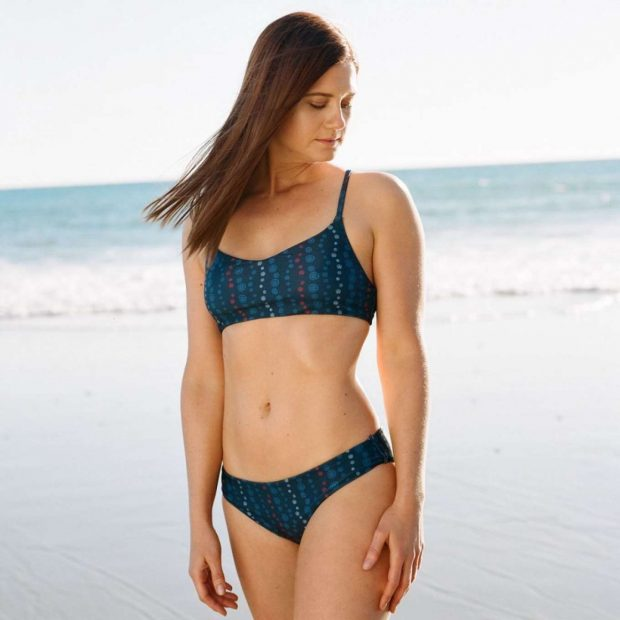 Bonnie Wright for Fair Harbor Swimwear 2019 Photoshoot