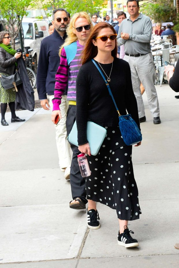 Bonnie Wright - Out in New York City