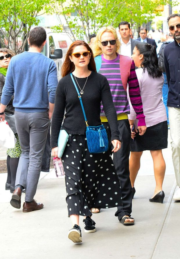 Bonnie Wright: Out in New York City -03
