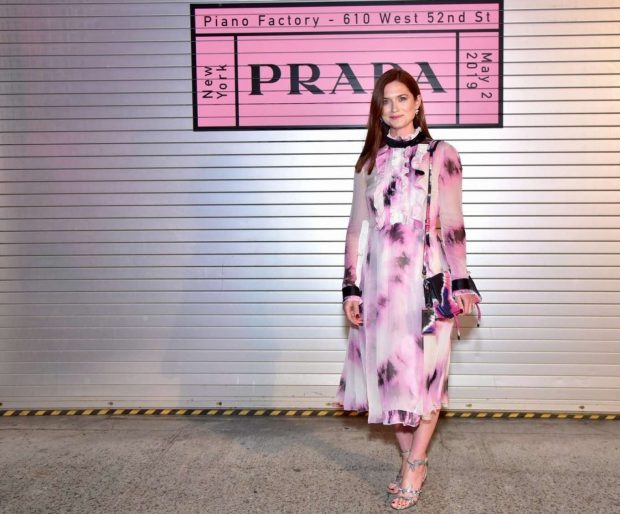 Bonnie Wright - Prada Resort 2020 Fashion Show in NY