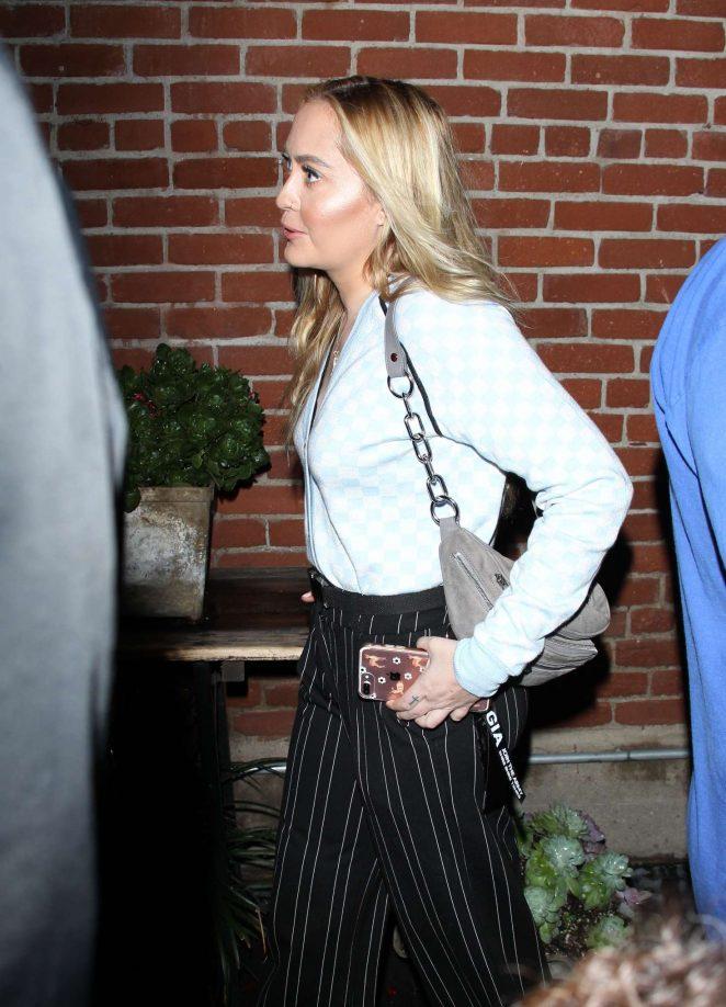 Brandi Cyrus - Arrives at The Zendaya Edit Block Party in Los Angeles