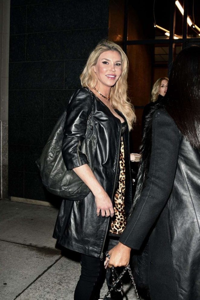 Brandi Glanville - Arrives at Watch What Happen Live in New York