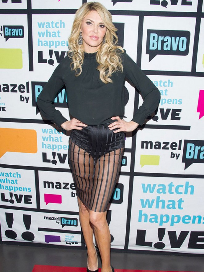 Brandi Glanville at Bravos 'Watch What Happens Live' in NYC