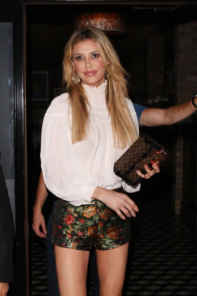 Brandi Glanville – Night out at Craig's in West Hollywood