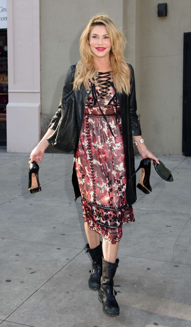 Brandi Glanville out in New York
